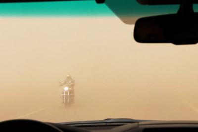 dust storm near mocha