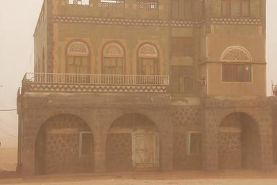 dust storm in mocha