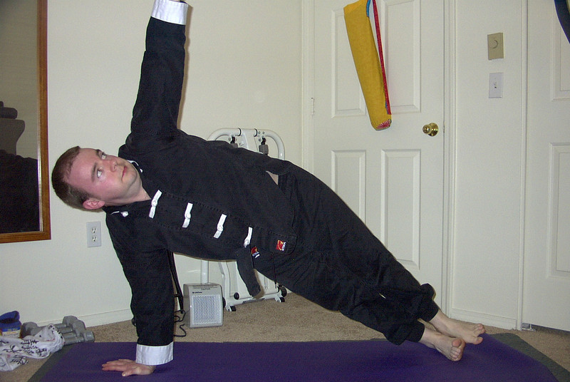 Vasistasana (side plank)