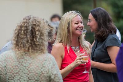 Yolanda and partner reception at Emory.