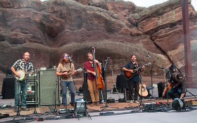 Greensky Bluegrass plays Red Rocks on August 21, 2015. Photos by Candace Horgan, heyreverb.com.