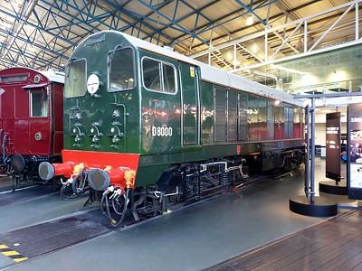 Class 20 D8000 (20050)    30/12/19