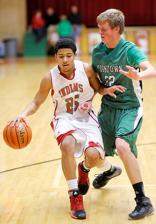 Don Knight / The Herald Bulletin<br /> Anderson hosted Yorktown on Friday.