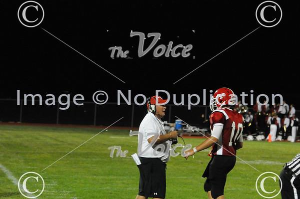 Yorkville, IL High School Football vs Streator 8-26-11