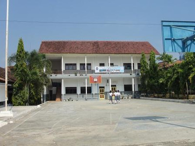 The school, located in Lampung Province, on the island of Sumatra, serves primarily poor families.