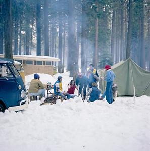 Yosemite Valley campground