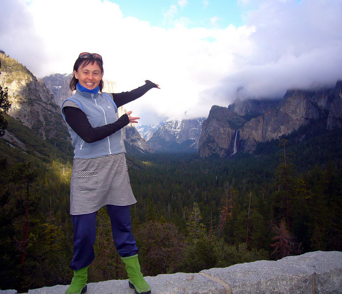 AND HERE WE HAVE YOSEMITE VALLEY...BEFORE THE STORM MOVED IN THAT NIGHT