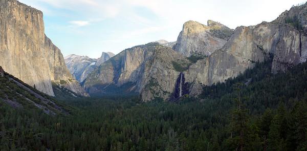 Yosemite Valley 40MP Panoramic Stitch