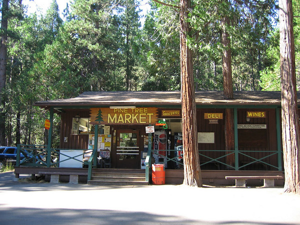 Pine Tree Market, Wawona CA.  Good old Pine Tree market...  Wawona CA.