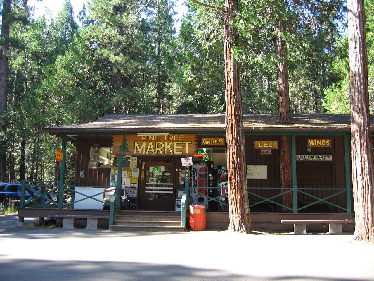 Pine Tree Market, Wawona CA. <br /> Good old Pine Tree market...  Wawona CA.