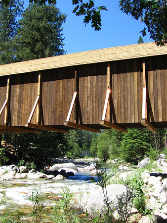Wawona covered bridge  The covered bridge in Wawona CA.
