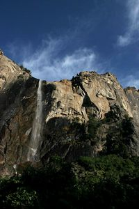 Bridalveil falls at Yosemite National Park