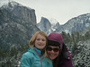 Half Dome and family.