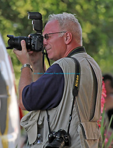 Ron, photographing the festivities of the Ripley Independence Day celebration.  Thanks to my friend, Amanda, for the photo!