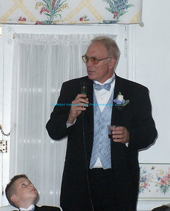 The Photographer as Father of the Bride.  Thanks to my son, David.