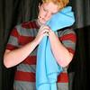 John P. Cleary | The Herald Bulletin  <br /> Linus VanPelt hugs his beloved blanket.