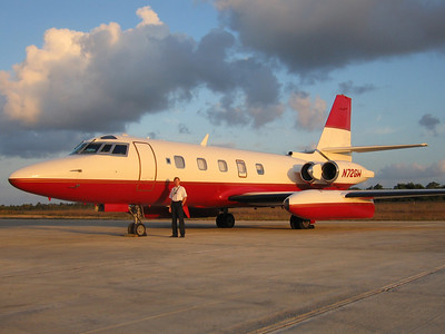 Waiting with Jetstar II in Belize for passengers, March 2007