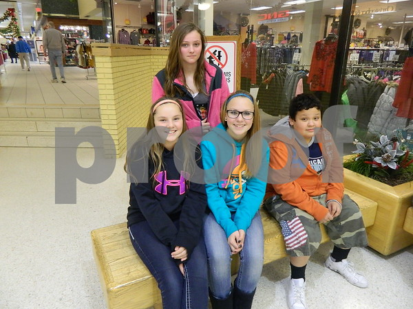 left to right: Greyson Smith, Kenae Beam, Eddie Nava, and Brianna Berning