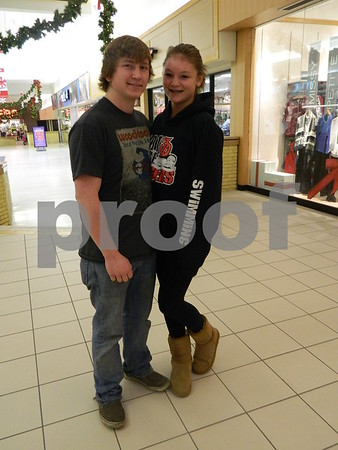 left to right: Ethan Farr and Alexis Crampton