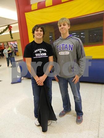 left to right: Logan Fanker,  and Jaden Nesbitt