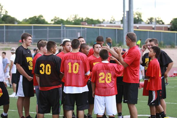 Northglenn's YOUTH Football Camp July 26, 2011