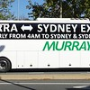 Murrays Bus advertising Canberra to Sydney express route