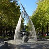 Another sculpture in Garema Place in Civic, Canberra in May 2016