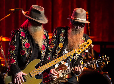 ZZ Top performs at the Paramount Theatre on March 8, 2014. Photos by Jason Bullinger, heyreverb.com.