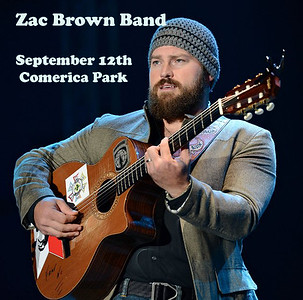 Zac Brown Band at Comerica Park