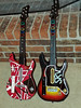 Zach's Guitar Hero guitars-1-2