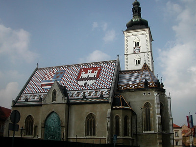 St. Marcus church in Zagreb
