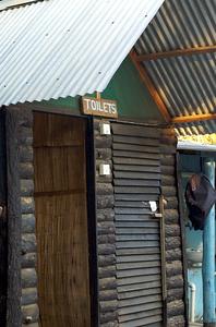 Toilets at ChaChaCha's