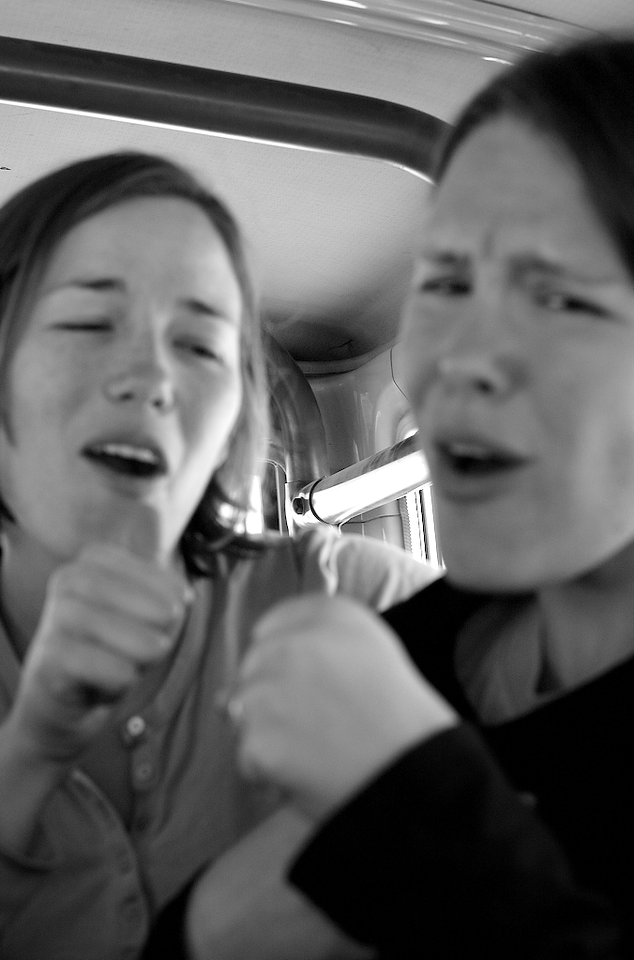 Car Singing: cheesy love songs