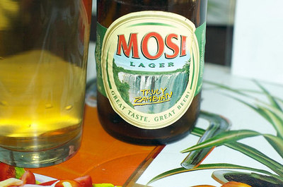 Mosi, the local beer.