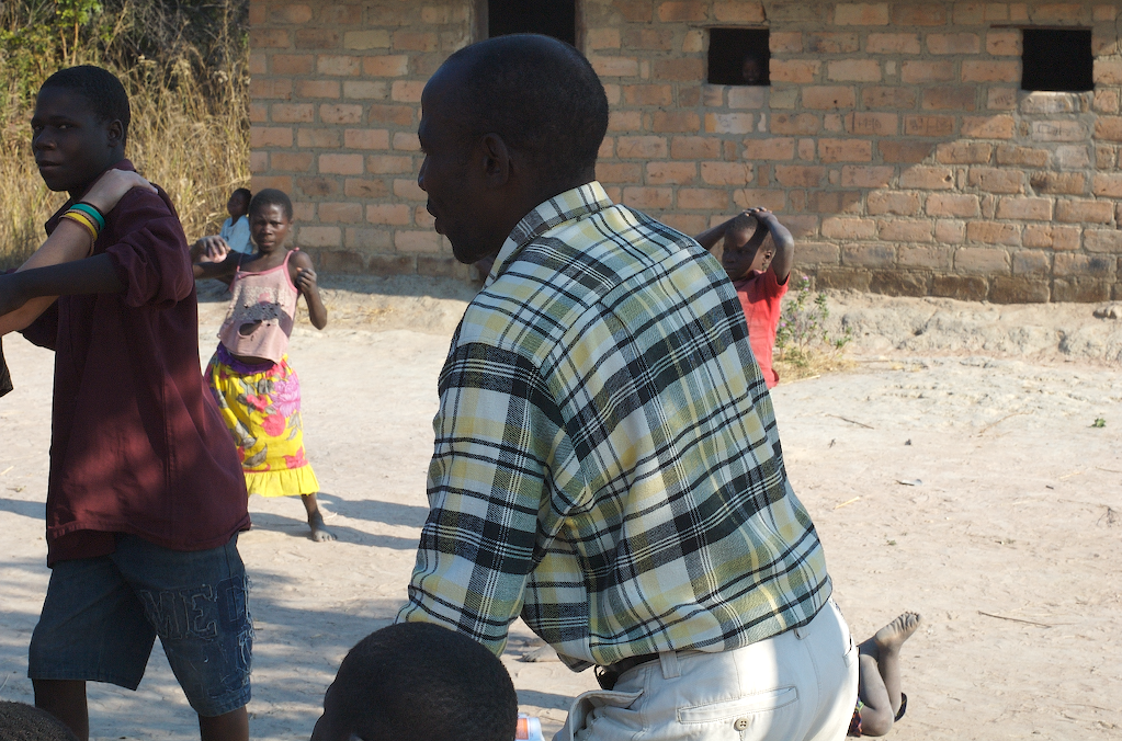 David, an HIV educator who helped translate from Lunda to English