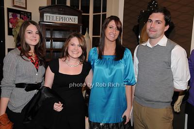 Heather Corcoran, Rachael Bowie, Lauren Larkin, Chris Spargo - photo by Rob Rich © 2008 516-676-3939 robwayne1@aol.com