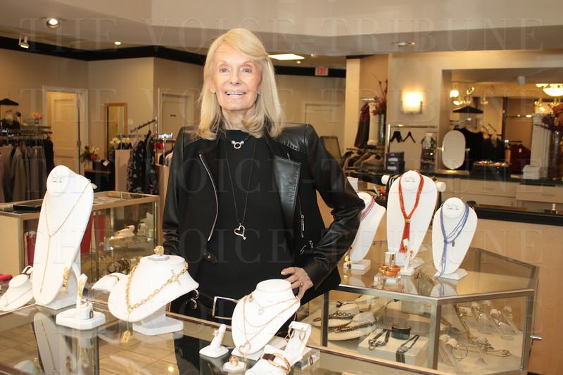 Jewelry designer Orlanda Olsen.