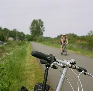 Centennial bike trail (Snohomish), 2015. Negative: Kodak Portra 400 ASA.