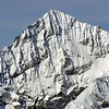 the east face of the weisshorn in the swiss alps above Zermatt