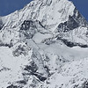 The Dent Blanche (white tooth) in the swiss alps above Zermatt