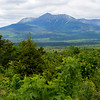 KATAHDIN WOODS AND WATERS NATIONAL MONUMENT, Maine -- 06/14/2017 - Mount Katahdin is seen from a scenic overlook in the Katahdin Woods and Waters National Monument Tuesday.  Ashley L. Conti | BDN