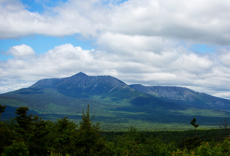 KATAHDIN WOODS AND WATERS NATIONAL MONUMENT, Maine -- 06/14/2017 - The view of Katahdin is seen while on a tour of the Katahdin Woods and Waters National Monument with U.S. Secretary of the Interior Ryan Zinke Tuesday. The visit was the start of a four-day visit to New England. Katahdin Woods and Waters National Monument is currently under  review via President Trump's Executive Order 13792, issued April 26, 2017. Ashley L. Conti | BDN