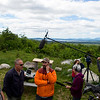 KATAHDIN WOODS AND WATERS NATIONAL MONUMENT, Maine -- 06/14/2017 - U.S. Secretary of the Interior Ryan Zinke (center) listens as Lucas St. Clair (right) talks about Katahdin during a tour of the Katahdin Woods and Waters National Monument Tuesday. The visit was the start of a four-day visit to New England. Katahdin Woods and Waters National Monument is currently under  review via President Trump's Executive Order 13792, issued April 26, 2017. Ashley L. Conti | BDN