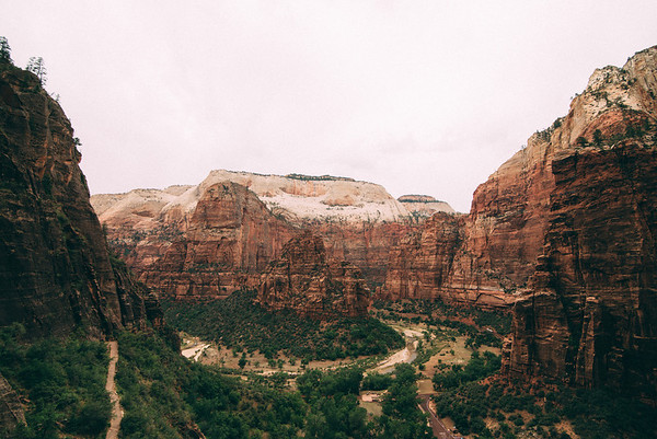 Zion, Bryce Canyon, Kolob Canyon