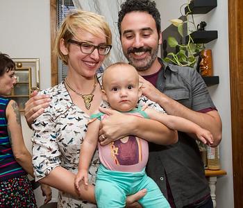 Zola, Lisa and Todd