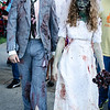 Bride and groom zombies--Beetlejuice?