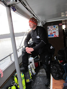 Boat Diving Trip in the Puget Sound