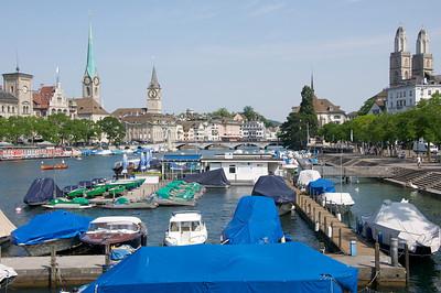 Zurich and surroundings (Switzerland)