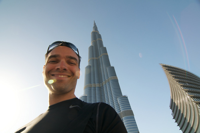 "Me with <a href=""http://www.burjkhalifa.ae/"">Burj Khalifa</a> in the background."