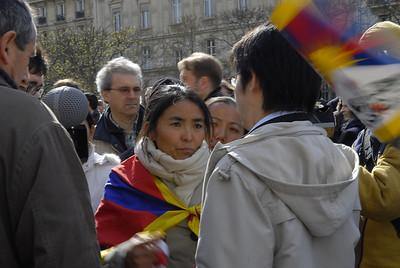 actions pour le Tibet
